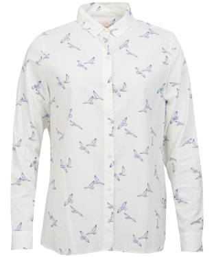 Women's Barbour Stirling Shirt - Cloud Coast Print