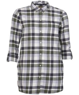 Women's Barbour Lewes Shirt - Green / Grey Check