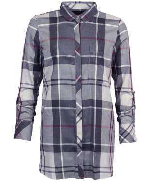 Women's Barbour Glenn Shirt - Juniper Winter Tartan