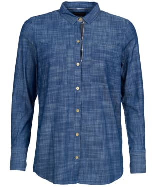 Women's Barbour Morag Shirt - Denim Blue