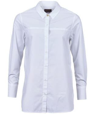 Women's Barbour Bute Shirt - White