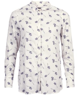 Women's Barbour Lomond Shirt - Cloud Print