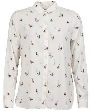 Women's Barbour Brecon Shirt - Cloud Print