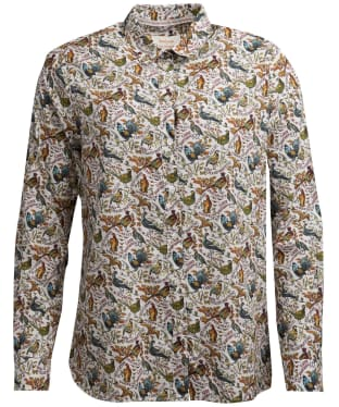 Women's Barbour x Emma Bridgewater Eleanor Shirt - Cloud Game Bird Print