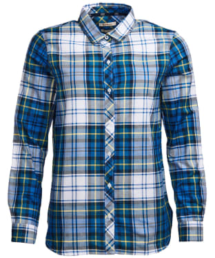 Women's Barbour Stokehold Shirt - Tide Blue Check