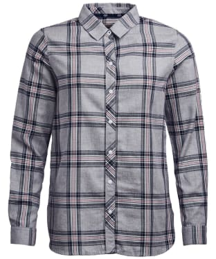 Women's Barbour Fairlead Shirt - Grey Check