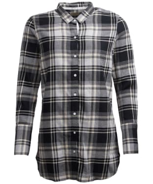 Women's Barbour Cabin Shirt - Black Check