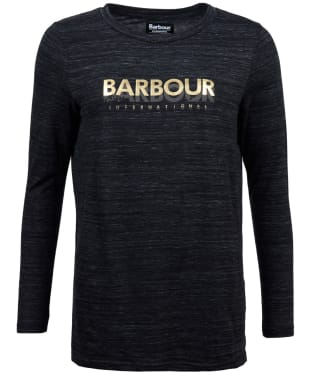 Women's Barbour International Island Tee - Anthracite