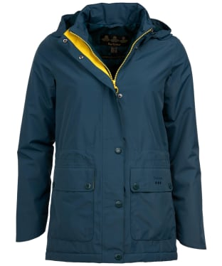 Women's Barbour Crest Waterproof Jacket - Emerald