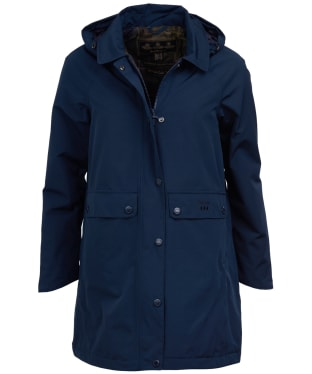 Women's Barbour Element Waterproof Jacket - Navy