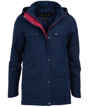 Women's Barbour Metric Waterproof Jacket - Navy