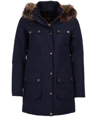 Women's Barbour Collingwood Waterproof Jacket - Navy