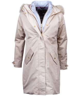 Women's Barbour Bute Waterproof Jacket - Mist