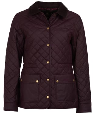 Women's Barbour Penshaw Waxed Jacket - Merlot