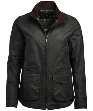 Women's Barbour Stockhold Waxed Jacket - Sage
