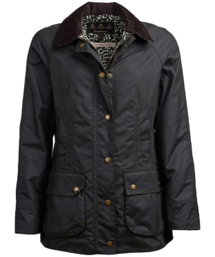 Women's Barbour x Emma Bridgewater Eleanor Waxed Jacket - Sage