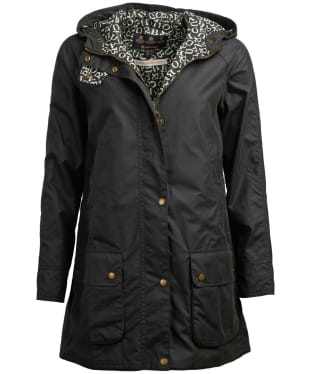 Women's Barbour x Emma Bridgewater Love Waxed Jacket