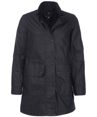 Women's Barbour x Ridley Scott Reel Waxed Jacket - Black