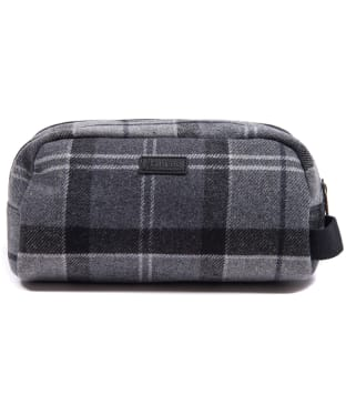 Barbour Tartan Wool Wash Bag