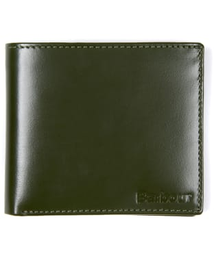 Men's Barbour Keighly Leather Billfold Wallet