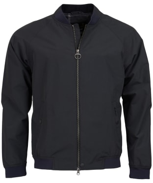 Men's Barbour Torksey Casual Jacket - Black