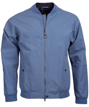 Men's Barbour Torksey Casual Jacket - China Blue