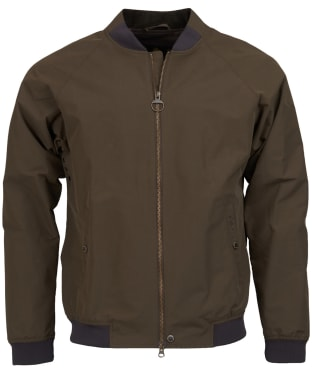 Men's Barbour Torksey Casual Jacket - Burnt Sepia