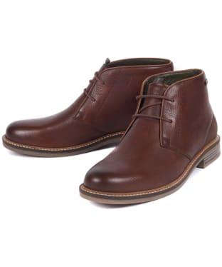 Men's Barbour Readhead Chukka Boots - Dark Brown