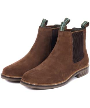 Men's Barbour Farsley Chelsea Boot - Caramel Suede
