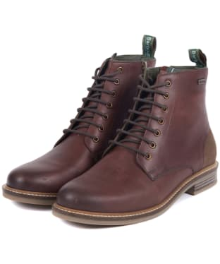 Men's Barbour Seaham Derby Boots - Conker