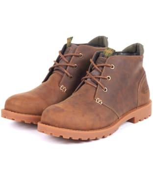 Men's Barbour Pennine Chukka Boots - Umber