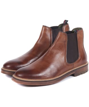 Men's Barbour Wansbeck Chelsea Boots - Tan