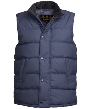 Men's Barbour Mellor Gilet - Moody Blue