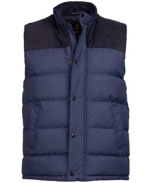 Men's Barbour Wisbech Gilet - Moody Blue