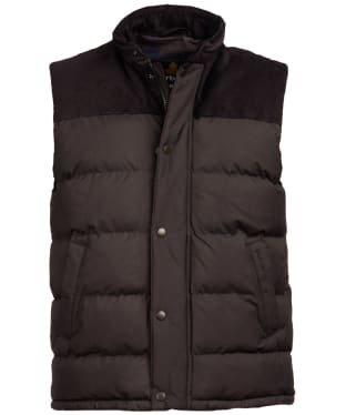 Men's Barbour Wisbech Gilet - Burnt Sepia