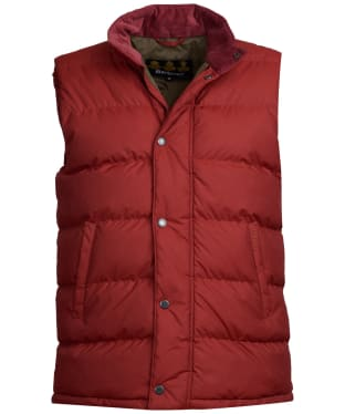 Men's Barbour Wisbech Gilet - Russet