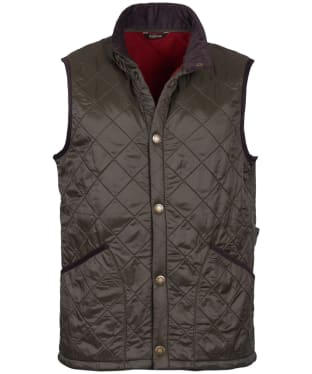 Men's Barbour Perble Gilet - Olive
