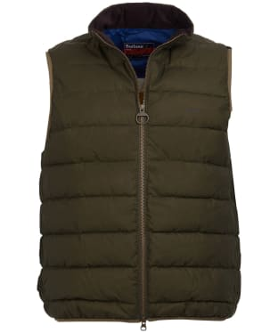 Men's Barbour Rugby Scrum Gilet - Archive Olive