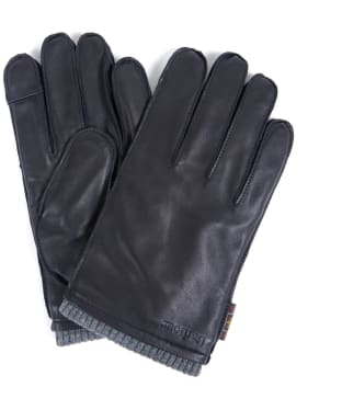 Men's Barbour Bampton Leather Gloves