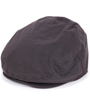 Men's Barbour Waxed Flat Cap - Sylkoil - Rustic