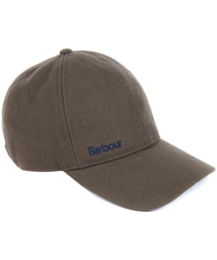 Men's Barbour Coopworth Sports Cap - Burnt Sepia