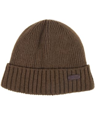 Men's Barbour Carlton Beanie Hat - Fossil Stone