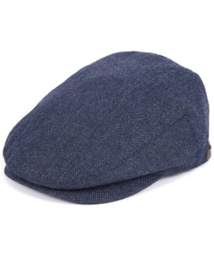 Men's Barbour Barlow Flat Cap - Navy