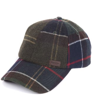 Men's Barbour Galingale Tartan Sports Cap - Barbour Classic