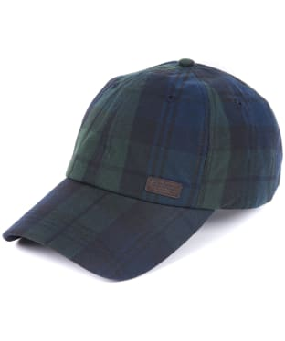 Men's Barbour Darwen Tartan Sports Cap - Black Watch