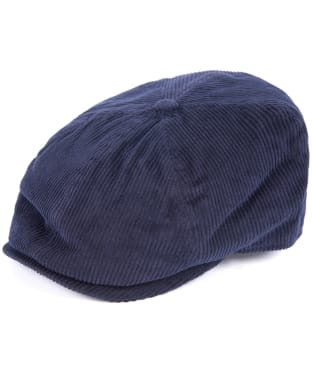 Men's Barbour Nelson Bakerboy Cap - Navy