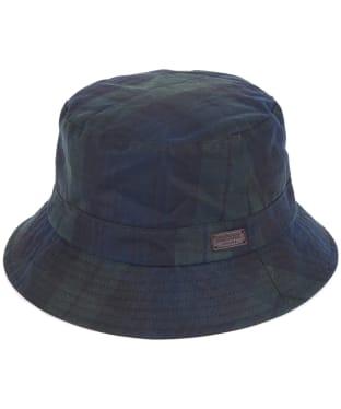 Men's Barbour Darwen Wax Sports Hat - Black Watch Tartan