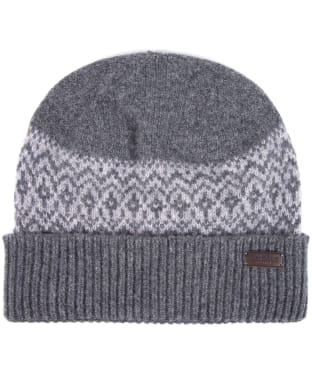 Men's Barbour Doune Beanie - Charcoal / Grey