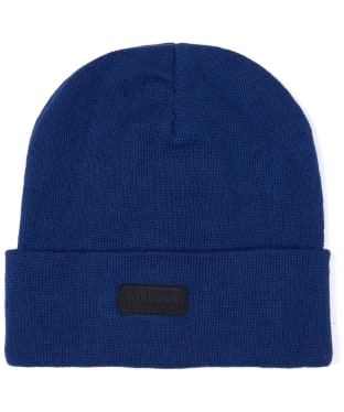 Men's Barbour International Sensor Knit Beanie Hat - Deep Blue