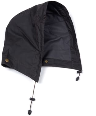 Barbour Lightweight Wax Hood - Rustic